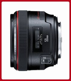 Canon EF 50mm f/1.2 L USM Lens for Canon Digital SLR Cameras - Fixed - Photo stuff (*Amazon Partner-Link)