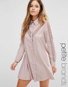 Изображение 1 из Платье с кружевными вставками Glamorous Petite