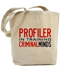 c538866b37a6 I need this Profiler in Training Criminal Minds Tote Bag Make Me Smile