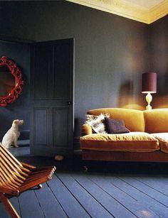Dark interior by Abigail Ahern