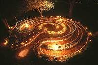 Labyrinth in Plano, Ill. Labyrinth Garden, Labyrinth Maze, Wiccan, Pagan, Magick, Dream Garden, Garden Art, Labrynth, Meditation Garden