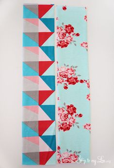 looped headband how to cut fabric