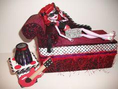 Furniture for Monster High Dolls Handmade por monsternitezzzz