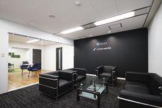 応接室 Ceo Office, Office Meeting, Bank Interior Design, Office Entrance, Futuristic Interior, Co Working, Reception Rooms, Office Interiors, Guest Room