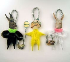 Chenille Easter Ornaments