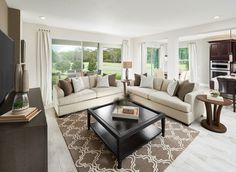 Spend quality time with the family in this oversized family room.