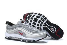 Original Nike Air Max 97 Blue Beige Men's Running Shoes NIKE005295