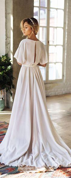 ideas for wedding boho dress mariage Lace Wedding Dress, White Wedding Dresses, Wedding Gowns, Bridesmaid Dresses, Wedding White, Autumn Wedding, Spring Wedding, Rustic Wedding, Wedding Ceremony
