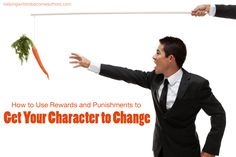 How do you get your character to change? As simple as this question may seem, it's also an important question that deserves a practical answer.