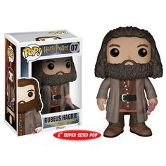 So Hagrid is huge. He's supposed to be this burly, yet loving man and yet,…as a Pop! Vinyl he's totally adorable. He's even a 6″ super sized Pop and he's still just cute. This Keeper of Keys and Grounds needs a little vacation from all those kids at Hogwarts though. He hasn't had a vacation …