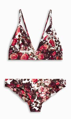 Dana the Delinquent Top + Kiki Bottoms – GIRL floral - Bikinis Bathing Suit Covers, Cute Bathing Suits, Summer Suits, Summer Wear, Bikinis For Teens, Cool Outfits, Fashion Outfits, Girl Fashion, Beachwear