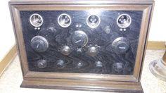 antikes Radio Original Dachbodenfund Röhre Technik alt 2 | eBay