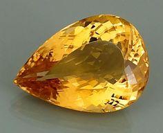 DSEF CERTIFIED GOLD BERYL : 41,22 Ct  Gold Beryll ( Edel Beryll )