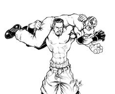 WWE Coloring Pages Online For Free