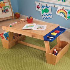 KidKraft Natural Rectangular Kid's Play Table