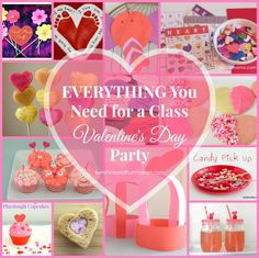 Are you organizing the school Valentine Party for your child's class? Need a few simple and fast ideas for scouts, AWANA, or your own kids? Everything You Need For A Class Valentine's Day Party is an easy guide that will cover the food, crafts, games, & activities, all in ONE place!