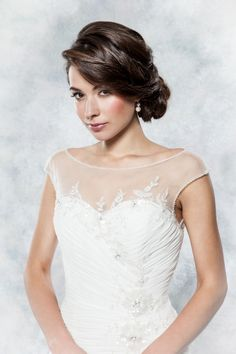 Wedding dress style D003 - Daisy collection by Alexia Designs. Available at AlisonJaneBridal