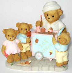 Molly, Max, Mathrew & Michael (Teddies At Work) WOULD LOVE