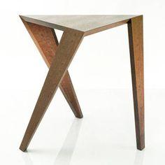 PERI SIDE TABLE  Materials: Real wood veneer Dimensions: 22W x 22D x 20H  Options: Veneer, glass top