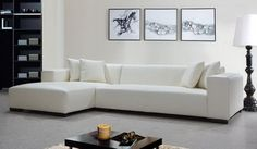 White Corner Sofa Sets Furniture with Abstract Wall Art in Modern Living Room Decorating Designs Ideas Home Loans Online, Development Of Your House