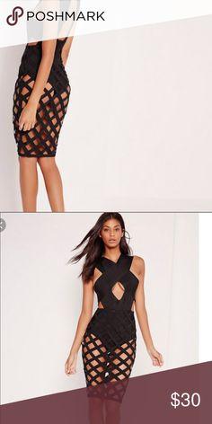 a536de30b89c8 Black Crochet Lace Detail Bodysuit Adorable lace-up front bodysuit ...