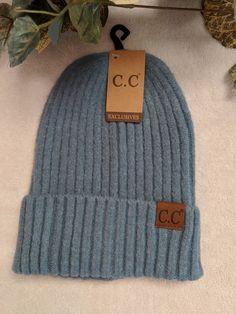 272e1ba4e30 Soft Ribbed Single Roll Up CC Hat