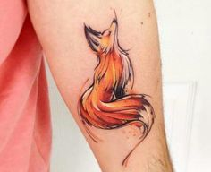 Love me the Fox ink