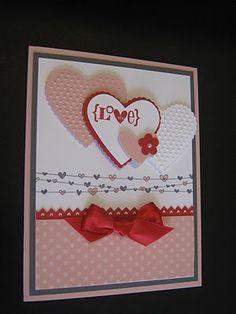 Creating With Carol: Valentine Cards