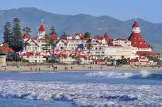 Hotel Del Coronado ....Follow the Yellow Brick Road...The Wizard of Oz and Coronado Island!