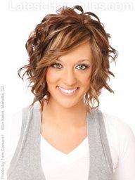 Autumn hair highlights. Love the color!