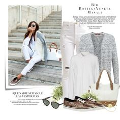 Zobacz stylizację zawierającą m.in. Sweter s.Oliver, Okulary damskie Ray-Ban. Sprawdź, ile kosztuje i gdzie można kupić!