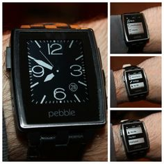 The Pebble Steel watch