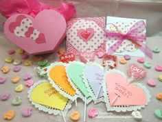 The Darby Creek Diaries: Share The Love Hop: Heart Diecuts Three Ways!