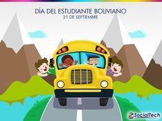 Los estudiantes de Bolivia tuvieron su día y su imagen en nuestra redes sociales. ¡Vivan los estudiantes!