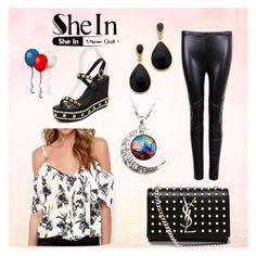 """shein"" by sheinside ❤ liked on Polyvore"