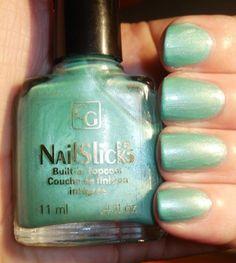 Covergirl - Blue Parfait Vintage Nails, G Nails, China Glaze, Covergirl, Parfait, Swatch, Wedding Day, Nail Polish, Blue