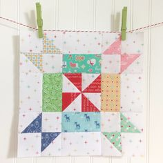Last week I showed you my newCozy Blockthat I made using myCozy Christmas Fabric.And this week...I have the tutorial ready for you!  I made this table runner and itfits perfectly on thefarm table