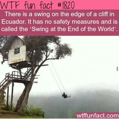 I'd definitely swing off of this swing from time 2 time....   (hating the world)!!!