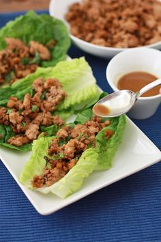 I always want to make PF Changs lettuce wraps as my meal, and this did exactly that--and probably a whole lot healthier! The more you mince the ingredients, the better it all mixes together. The cocos aminos had a delicious, and slightly sweet flavor, and I used almond oil which added a bit of a nutty taste too. Absolutely loved these! #whole30 (Chicken Lettuce Wraps) ekw