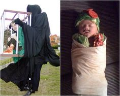 Disfraces caseros impactantes para fiesta de Halloween