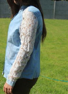 Kup mój przedmiot na #vintedpl http://www.vinted.pl/damska-odziez/okrycia-wierzchnie-inne/13862528-koszula-z-rekawami-koronkowymi