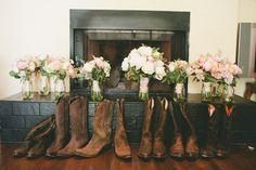 I'd rock some cowboy boots :)