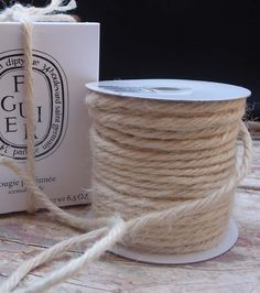 Thick jute twine -  off white