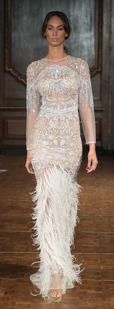 Wedding Dress - Idan Cohen 2017 Bridal Collection ❥Pinterest: yarenak67