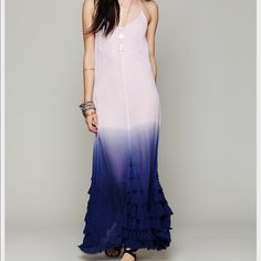 Free People Purple Hazy Days Maxi NWOT Free People Purple Hazy Days Maxi NWOT sold out!! Gorgeous and perfect for spring and summer. Tag is cut to prevent store return Free People Dresses Maxi