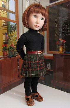 Penelope /& Friends 18 Inch Doll New in Box Ava Girl Plaid Skirt