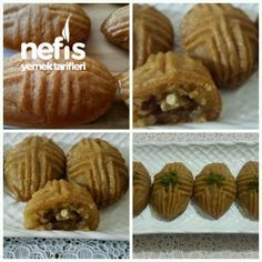 Parmak Yedirten Nefis Tatlı East Dessert Recipes, Köstliche Desserts, Delicious Desserts, Yummy Food, Turkish Recipes, Ethnic Recipes, Turkish Sweets, Muffin Recipes, I Foods