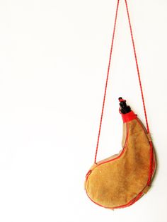 Vintage Suede Camping Water Wine Canteen by FreshtoDeathVintage on Etsy