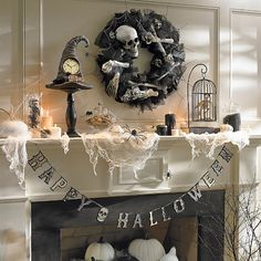 """Happy Halloween"" Banner ($24), item#141204 