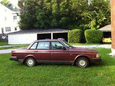 1990 Volvo 240 DL sedan Volvo 240, Bricks, Cars, Classic, Autos, Vehicles, Classic Books, Automobile, Car